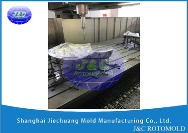 China CNC Machine Processed Aluminum Rotational Molds For Slide Tool LLDPE Plastic Material supplier