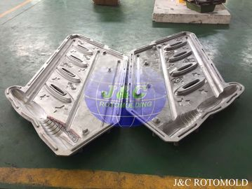 China CNC Machine Processed Aluminum Rotomoulding Moulds For Plastic Handrail Making supplier