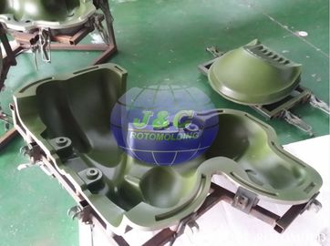 China Customized Precision Rotational Molding , Rotomolded Plastic Dog Spring Rider Mold supplier