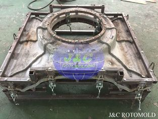 China Aluminum A356 Rotational Molds For LLDPE Plastic Outdoor Playground Equipments supplier