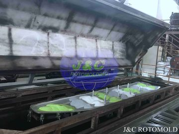 China Mixed Camo Colors Roto Molded Plastic Kayak , LLDPE / HDPE Rotomolded Catamaran supplier