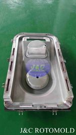 China Sandblasted Surface Treatment Aluminum Rotational Molds For Scrubber LLDPE Shell supplier