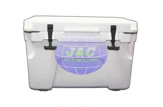 China Custom Rotational Moulding Products Plastic Cooler Box By Aluminum Moulds supplier