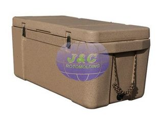 China LLDPE Roto Molded Plastic Products Insulated Fishing Boxes Rotomolded Cooler supplier