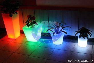 China Precision LED Light Plastic Rotomolded Planters By Aluminum Rotomoulding Moulds supplier