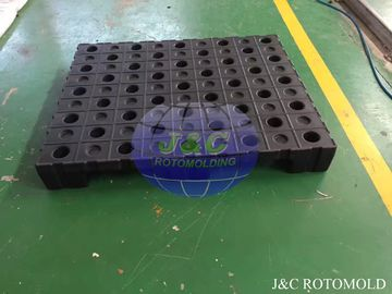 China High Precision Plastic Rotational Moulding For Strong Structure Four Way Pallets supplier
