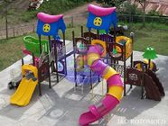 China Precision Plastic Rotational Moulding For Kids Outdoor Playground Equipments factory