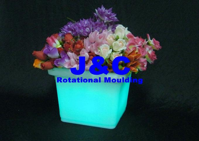High Precision Rotomolded Planters Made By Die Cast Alum A356 Rotational Mold