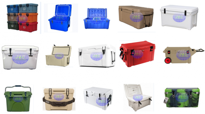 Precision Rotomolding Plastic Cooler Box , Food Grade Roto Molded Ice Cooler