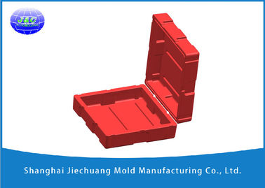 China Rotational Moulding For Plastic Military Case By A356 Aluminum Rotational Mold factory