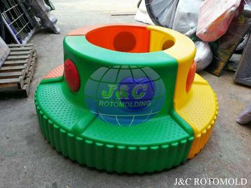 China Rotational Moulding Products For Kidengarden , Plastic Seat Made By Rotational Mold factory