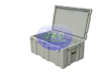China OEM Plastic Roto Molded Cases by CNC Processed Aluminum Rotational Molds factory