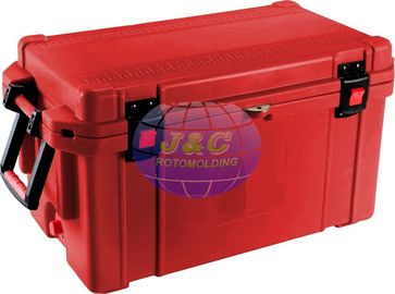 China Rotational Molded Cooler Boxes Made By Aluminum Block And CNC Processing factory