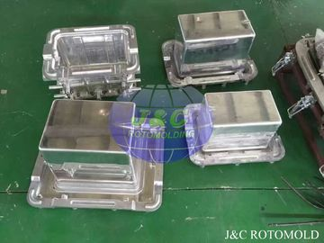China Aluminum Rotational Molds With Mirror Surface Treatment , Ice Boxes Roto Moulder factory