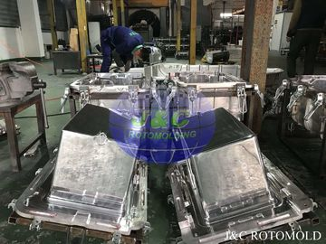 Aluminum Rotomoulding Moulds For Roto Molded Plastic Products High Precision