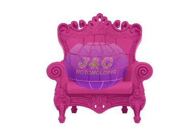 China Custom Plastic Rotational Moulding Queen Chair By Aluminum Rotational Mold factory