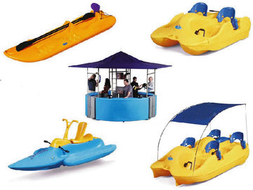Custom LLDPE Rotational Molding For Plastic Catanmaran / Rowing Boats / Kids Boat