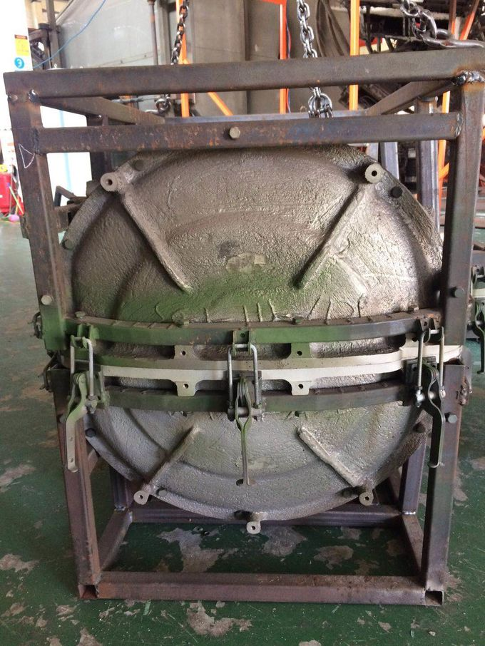 Roto Molded Water Tanks Mold Made By Rotational Mold , Water Tank Mold For Truck