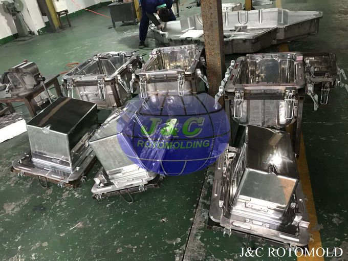 Metal Frames With Clamps For Aluminum Rotomolding Block Making Cooler Molds