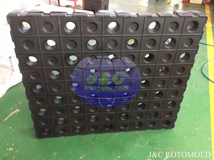 High Precision Plastic Rotational Moulding For Strong Structure Four Way Pallets