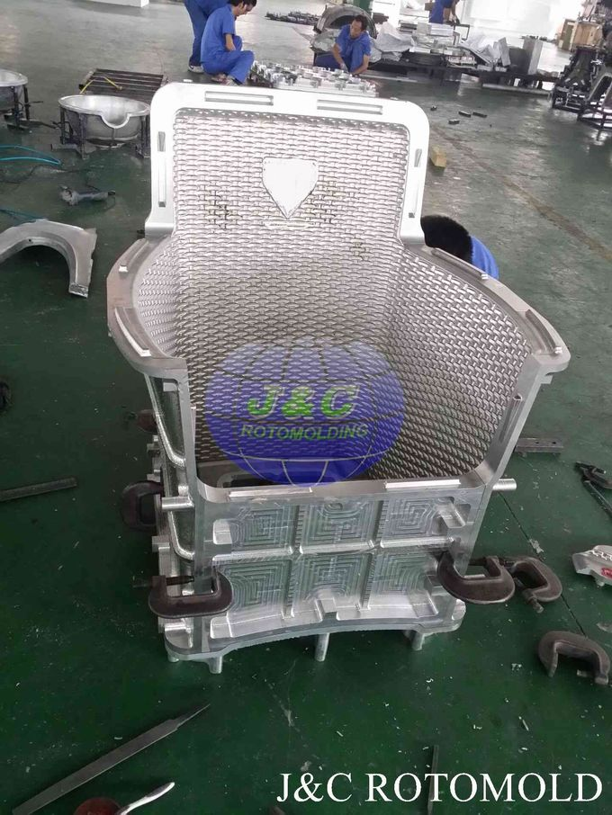 Plastic Products Made By Rotational Moulding , Rantan Chair Rotomoulding Moulds
