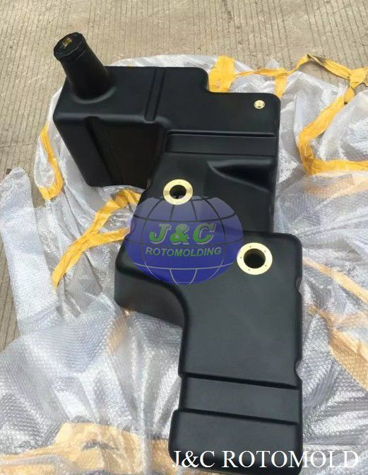 OEM HDPE Plastic Roto Molded Fuel Tanks , Custom Plastic Rotational Moulding